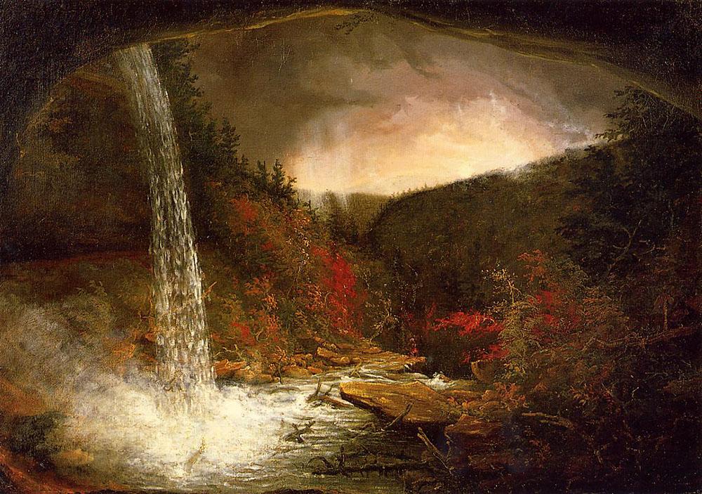 Томас Коул. Водопад Каатерскилл.