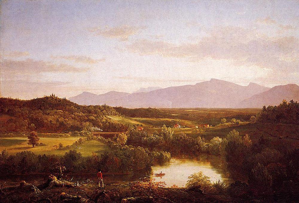 Томас Коул. Излучина реки.
