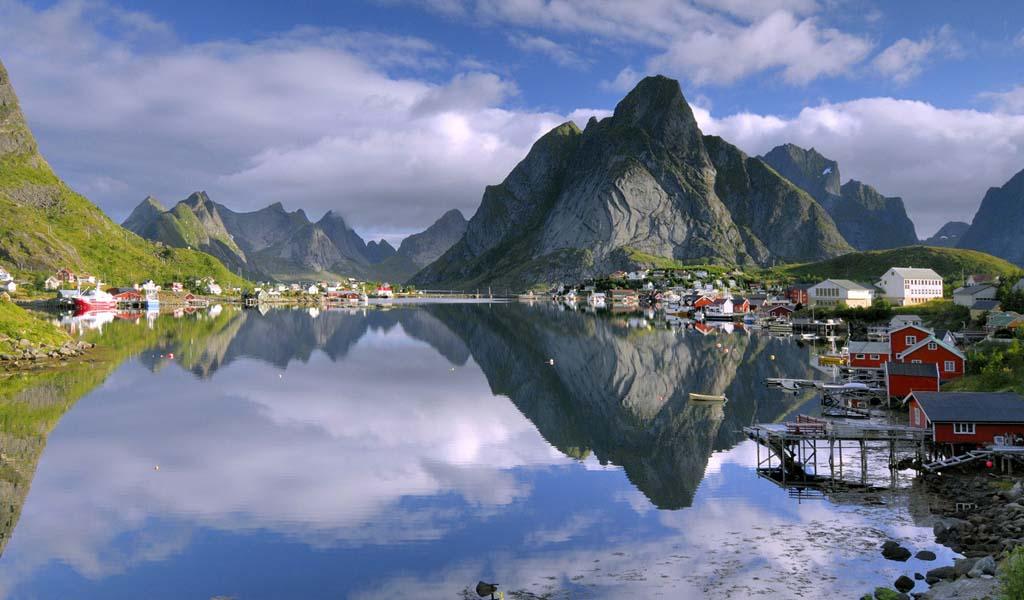 avrupa rüyası gudvangen viking köyü