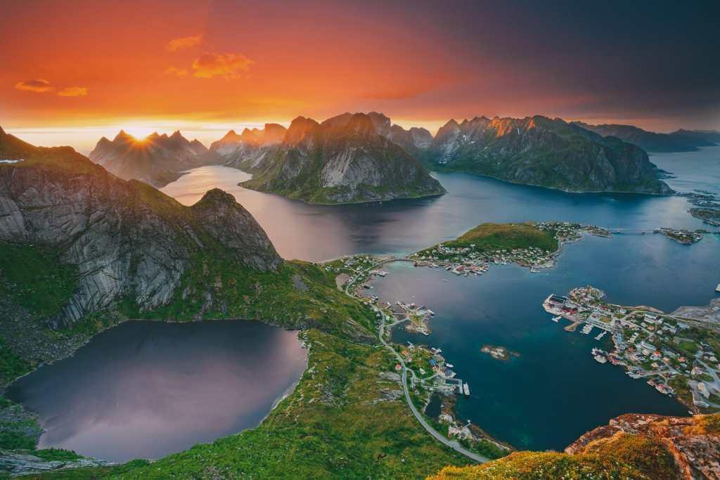 norveç lofoten adaları