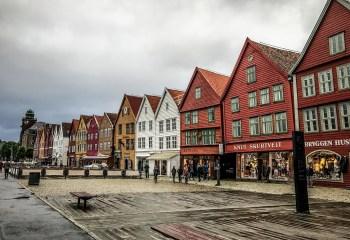 İskandinavya'daki En Renkli 5 Şehir