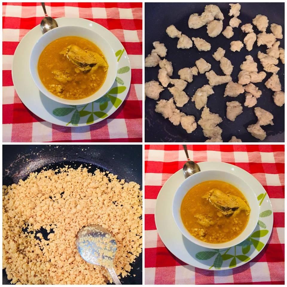 Gjelle me therrime dhe mish pule
