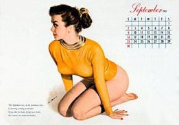 Pin up, Almoore
