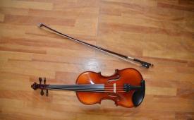 葛巻町 保育園バイオリン教室