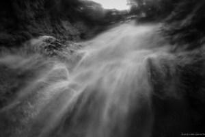 世界遺産の玄関 白神山地・くろくまの滝・滝壺