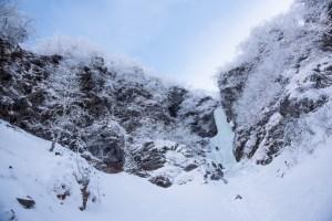 年末氷瀑巡り ~八ヶ岳・南沢大滝・大同心大滝~