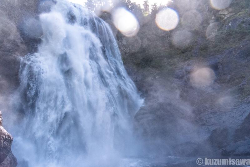 日本一の危険滝壺 尾瀬・三条の滝・滝壺