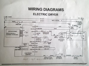 Wiring Diagram For Electric Clothes Dryer Oven Wiring Diagram Wiring Diagram ~ ODICIS