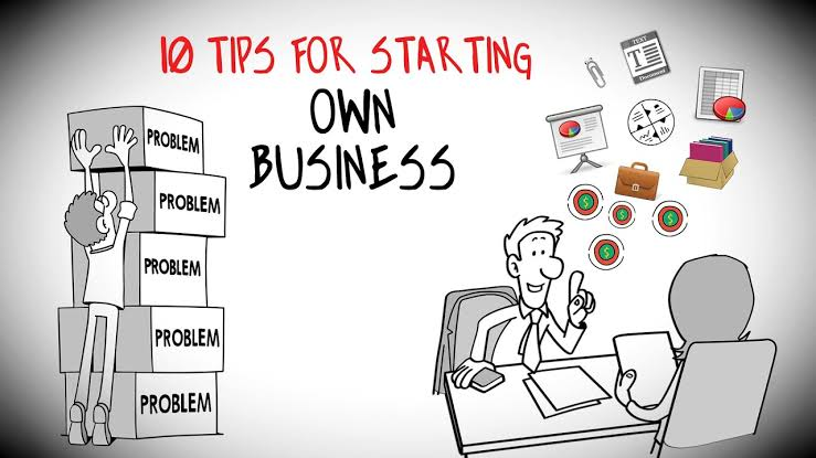 10 Tips for starting your own business