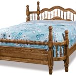 Wrap Around Bed Amish Solid Wood Beds Kvadro Furniture