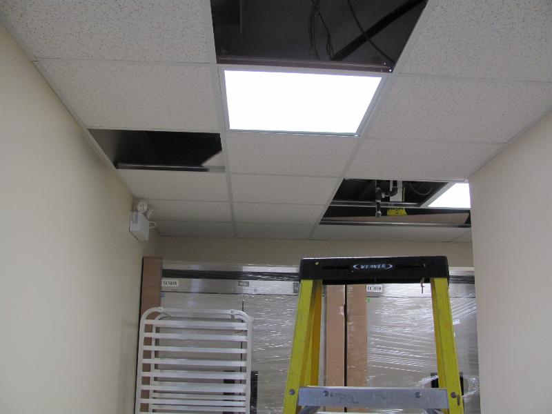Fluorescent Fixture Installation Adjala-13