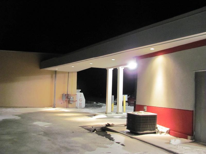 Exterior Canopy Pot Lights Installation Adjala-19