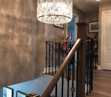 Chandelier Installation Woodbridge view 14