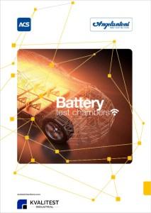 klimatskåp för batteriprovning