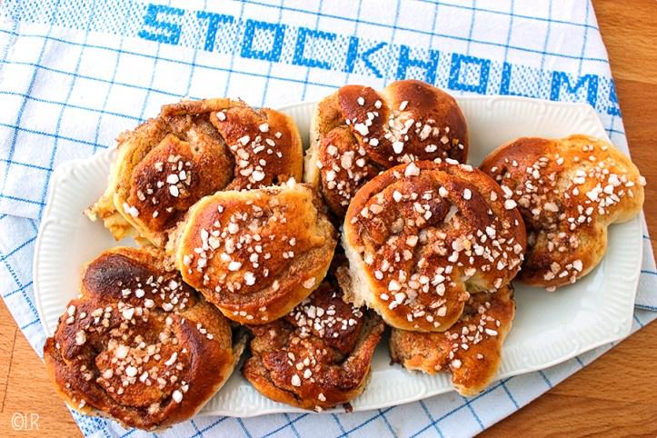 Heerlijk zoete kaneelbroodjes uit Zweden.
