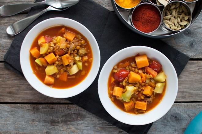 suppe med linser