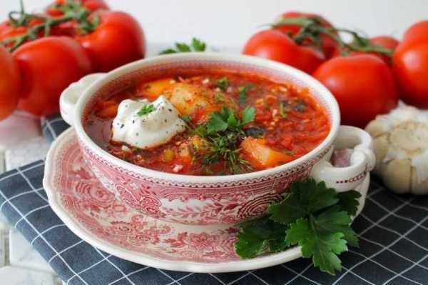 Борщ из квашеной капусты — рецепт с фото пошагово