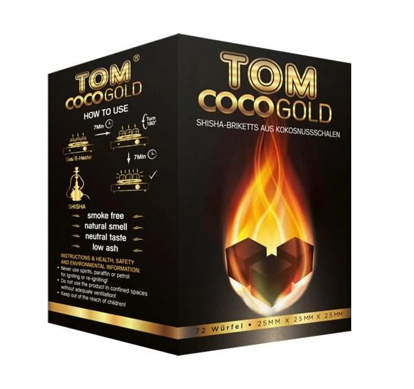 Tom Coco Cube Coal 1KG