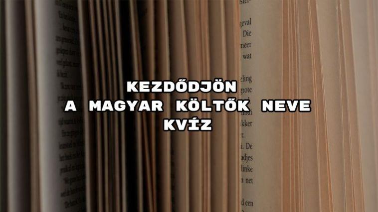 Fejezd be a közkedvelt magyar költők nevét - zsebeld be a telitalálatot!