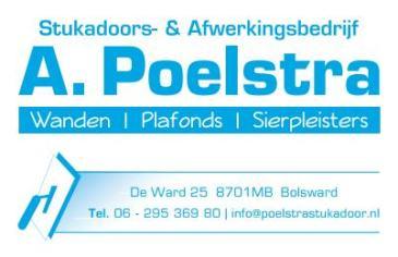 A Poelstra Bolsward