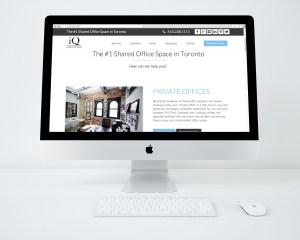 iQ Office Website