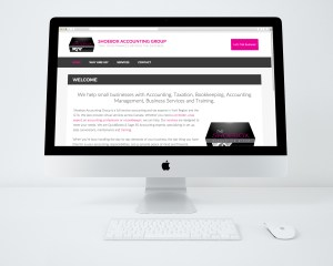 Shoebox Accounting Services Website