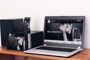 Website Photo Mockup - P&H Salon