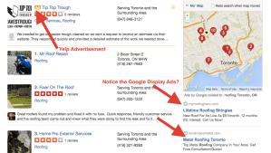 Yelp Directory Ads