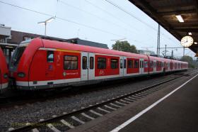 Zug in Bad Cannstadt