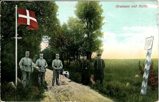 Grænsen 1911, Holte