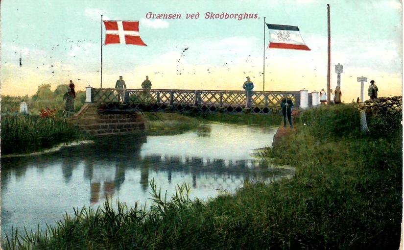 Den dansk – tyske grænse 1911