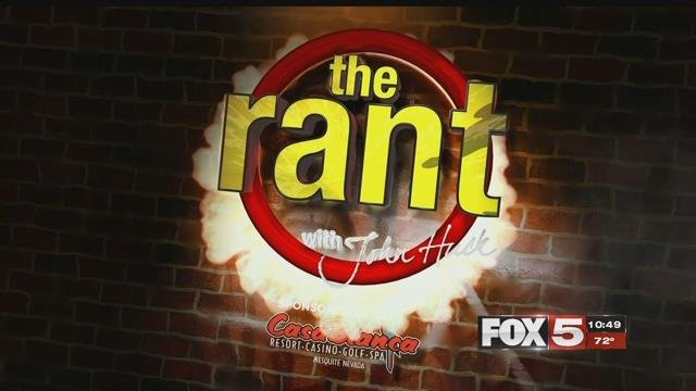 The Rant: June 12, 2017