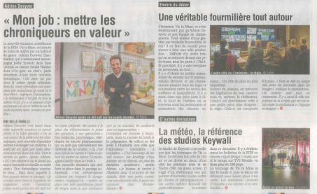 Sud Presse - 18 janvier 2017