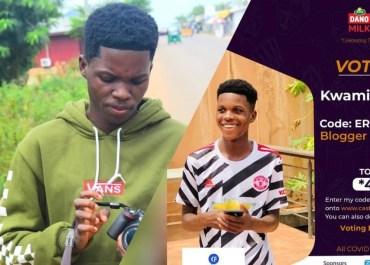Blogger Kwami Fortune Gets Nominated ERME Awards 2021