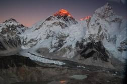 Ostatni promień słońca na szczycie Everestu