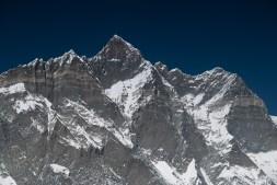 Południowa ściana Lhotse ze szczytu Chukung Ri (5550m)
