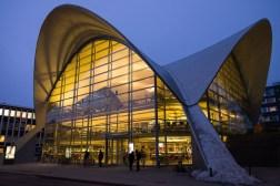 Biblioteka w centrum Tromsø