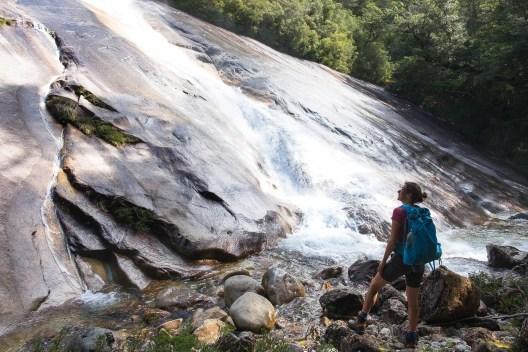 Ten wodospad był wyższy o dziesiątki metrów