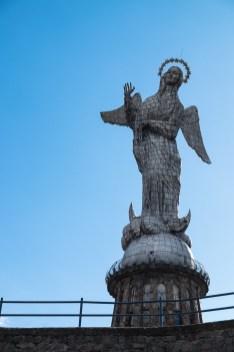 Virgen del Panecillo, najwyższa aluminiowa rzeźba na świecie