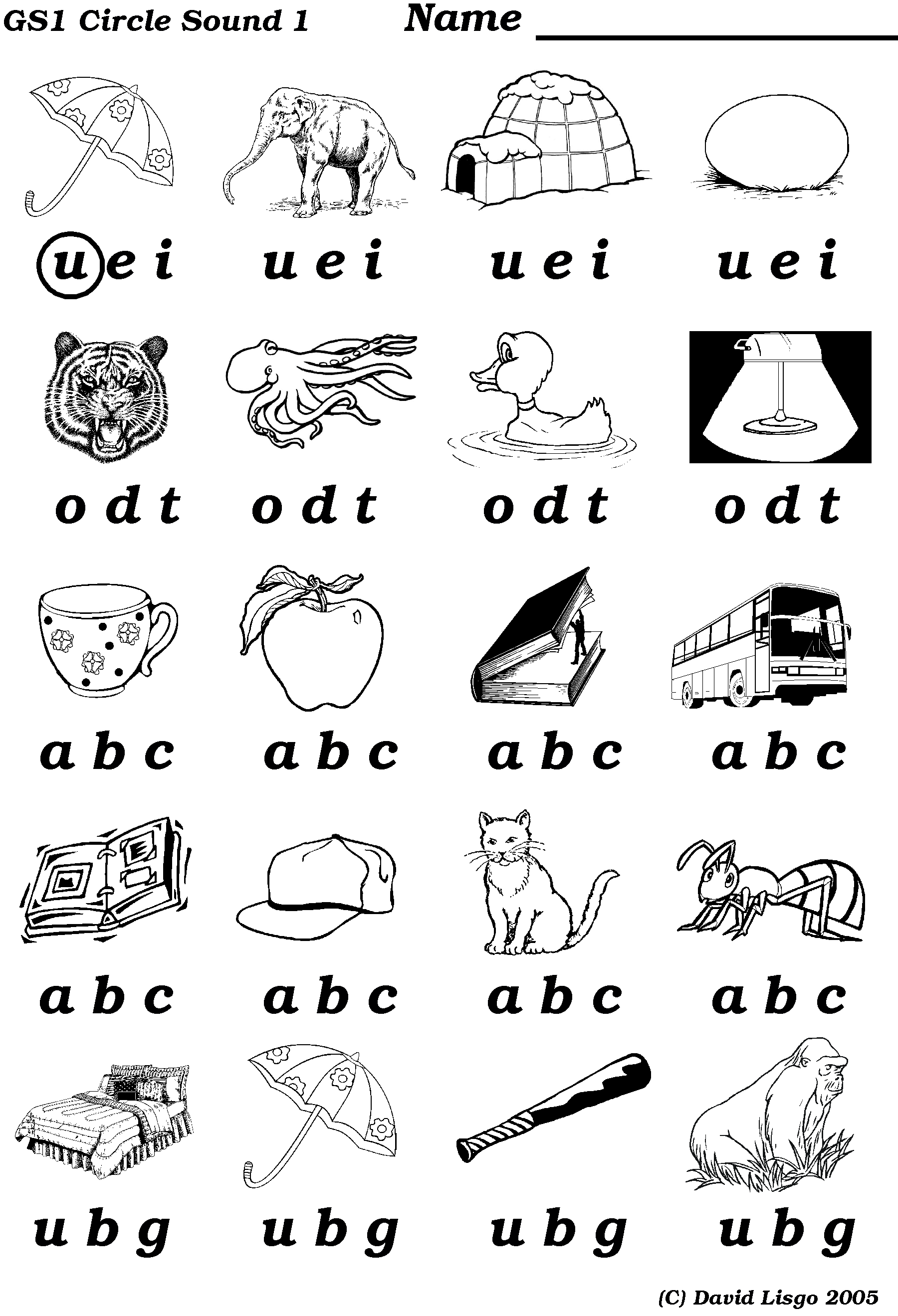 Alphabet Sound Worksheets Free Worksheets Library