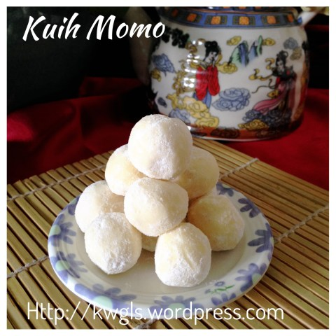 A Childhood Cookie That I Loved… Kueh Momo  or Ghee Cookies