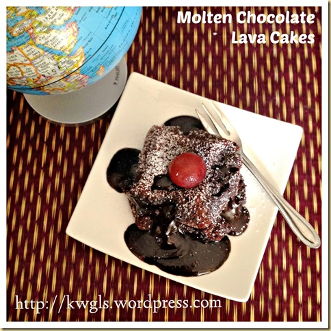 Half Baked Chocolate Sponge Cake? Molten Chocolate Lava Cake (心太软)