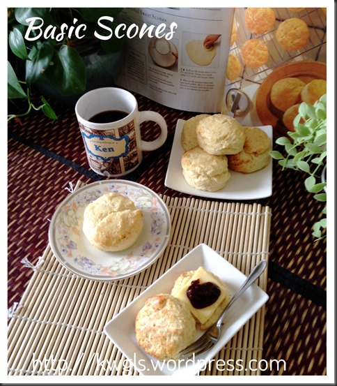 Basic But Presentable, Basic But Irresistible…Basic Raisin Scones Shared… (葡萄干司康)