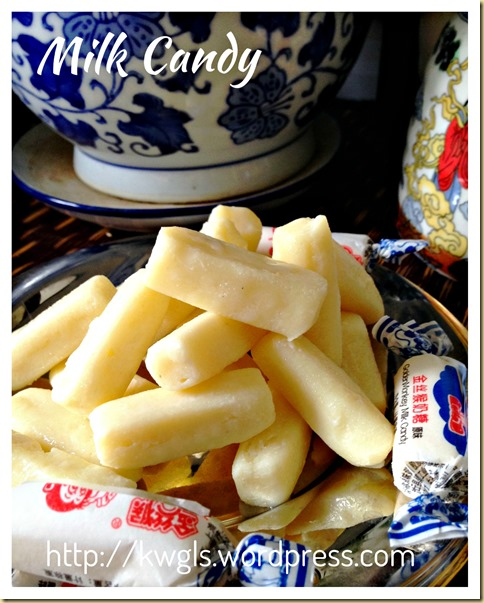 "Homemade White Rabbit Creamy Candy (自制""大白兔""牛奶糖)"