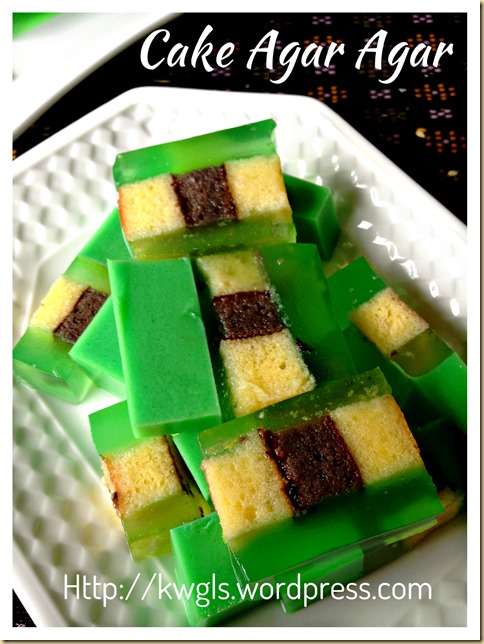 What To Do With You Stale Cake? - Cake Agar Agar (蛋糕燕菜)