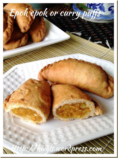 Money Bag For Your New Year–Simple Epok Epok or Curry Puffs