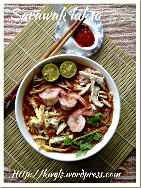 Hi, Let Start Cooking the Laksa …. An In Depth Analysis and Pictorial Procedural Description Of The Famous Sarawak Laksa (Part III)