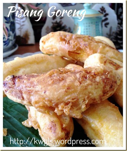 Banana Fritters or Pisang Goreng (炸香蕉)