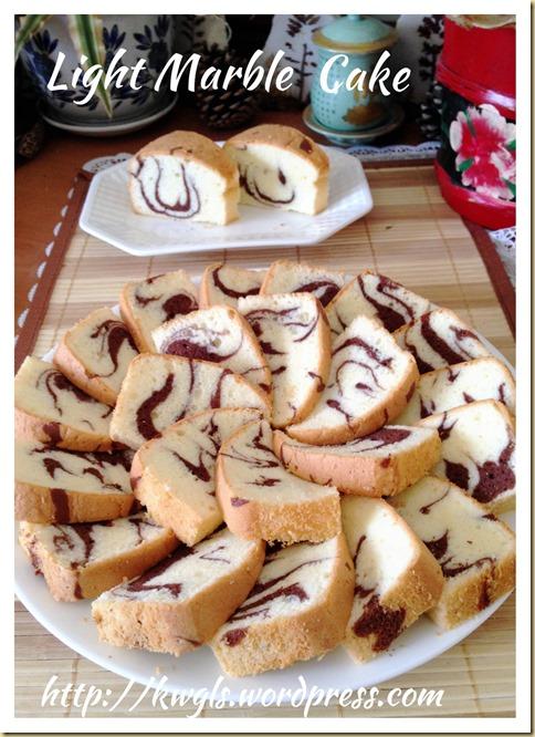 Light Marble Cake (轻云石蛋糕)