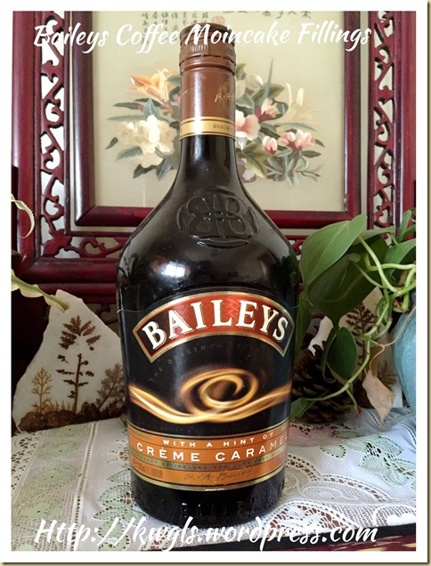 Homemade Baileys Coffee Filling (百利酒咖啡馅)